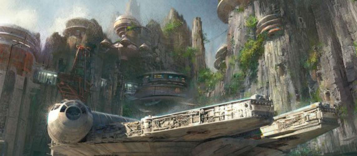 Aperçu de la zone Star Wars